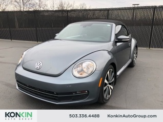 2016 Volkswagen Beetle 1 8t Sel Convertible Auto Pzev For In Portland