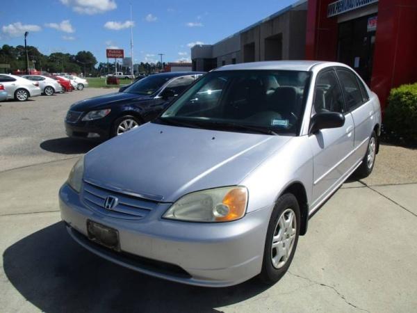 2002 Honda Civic LX Automatic Sedan