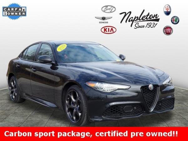 2019 Alfa Romeo Giulia Ti Sport Carbon