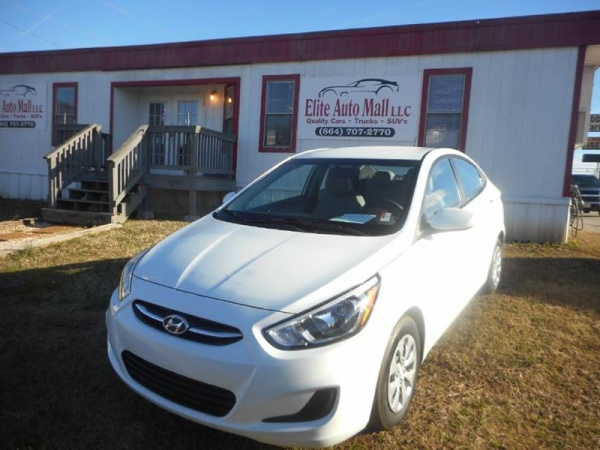 2017 Hyundai Accent Se Sedan Automatic For Sale In