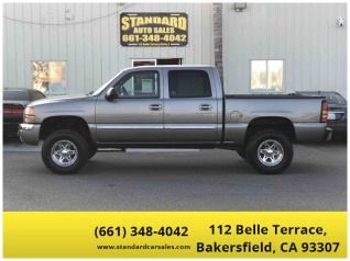 2006 Gmc Sierra 1500 Sle1 Crew Cab Short Box 2wd Automatic For In Bakersfield