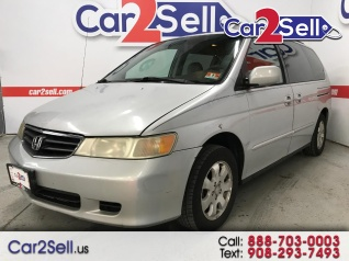 cb4e1b4f09 2002 Honda Odyssey EX-L with DVD Leather for Sale in Hillside