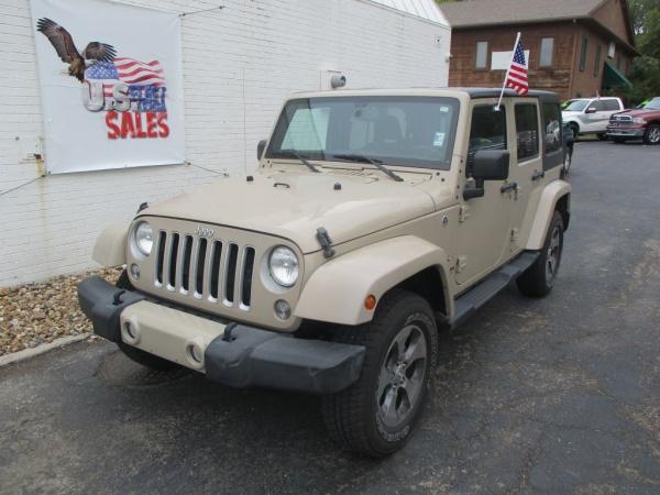 2016 Jeep Wrangler in Blue Springs, MO