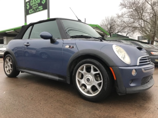 Mini Cooper Dallas >> 2007 Mini Cooper S Convertible For Sale In Dallas Tx Truecar