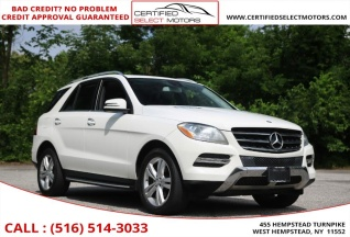 Used 2013 Mercedes Benz M Class ML 350 4MATIC For Sale In West Hempstead
