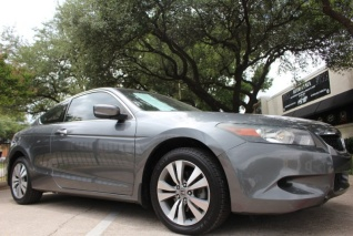 Used 2009 Honda Accord EX Coupe I4 Automatic For Sale In Dallas, TX