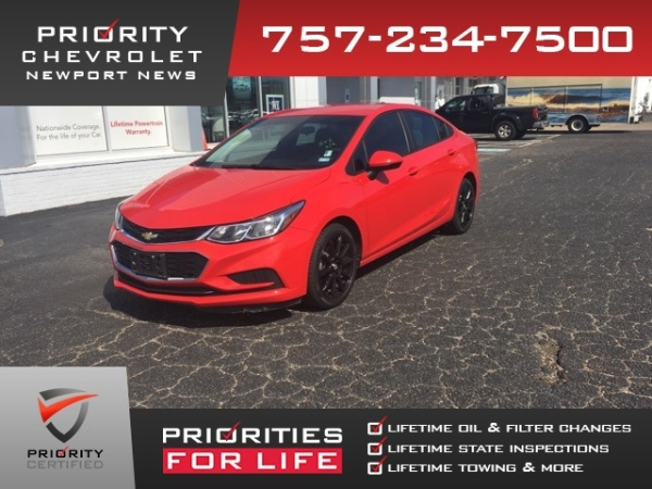 2018 Chevrolet Cruze in Newport News, VA
