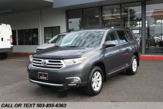 2012 Toyota Highlander For Sale >> Used Toyota Highlanders For Sale In Otis Or Truecar