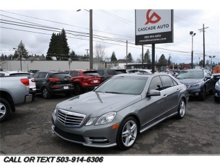 Great Used 2013 Mercedes Benz E Class E 350 Sport Sedan RWD For Sale In