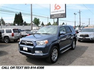 Used 2013 Toyota 4Runner Limited V6 4WD For Sale In Portland, OR