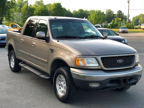 ford f150 4x4 2001