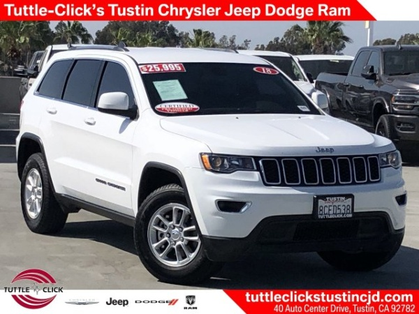 2018 Jeep Grand Cherokee in Tustin, CA