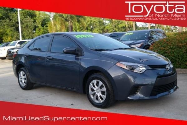 2016 Toyota Corolla in Miami, FL