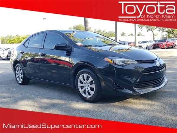2018 Toyota Corolla in Miami, FL