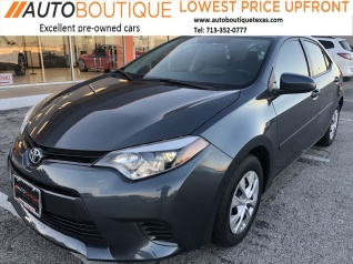 Used Toyota Corolla For Sale In Houston Tx 473 Used Corolla
