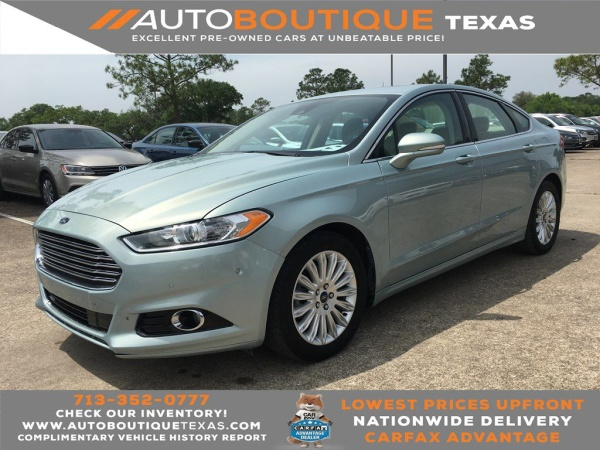 2013 Ford Fusion in Houston, TX