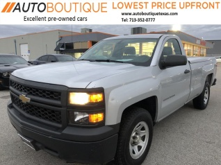 2014 Chevrolet Silverado 1500 Work Truck With 1wt Regular Cab Long Box 2wd For Sale In