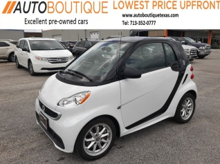 2016 Smart Fortwo Pion Coupe Electric Drive For In Houston Tx