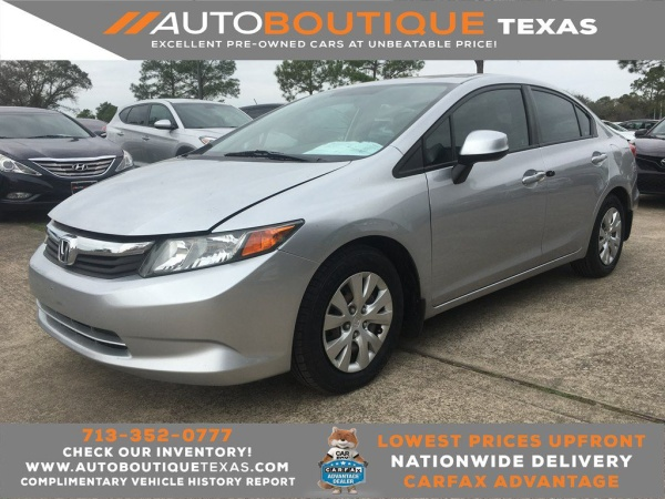 2012 Honda Civic in Houston, TX