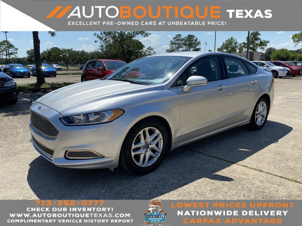 2016 Ford Fusion in Houston, TX