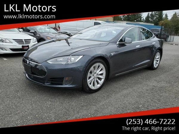 2015 Tesla Model S in Puyallup, WA