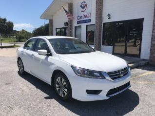 Used 2014 Honda Accord LX Sedan I4 CVT For Sale In Pensacola, FL