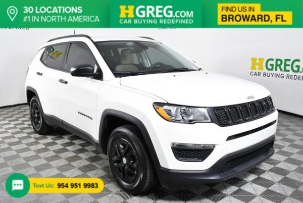 2018 Jeep Compass in West Park, FL