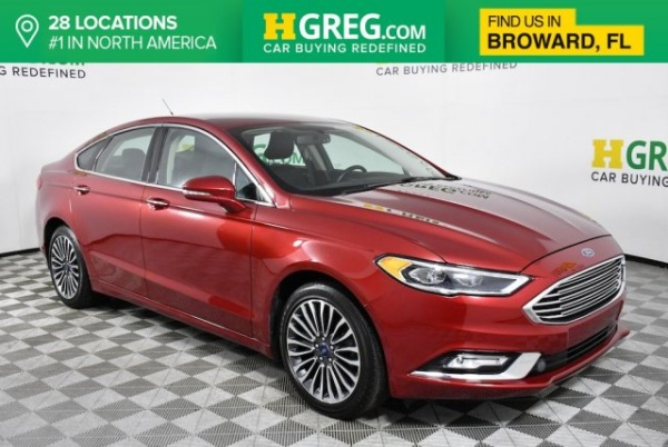2017 Ford Fusion in West Park, FL