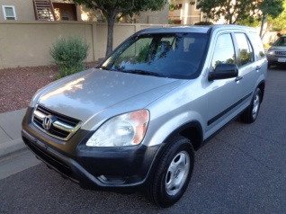Used 2003 Honda CR V LX With Side Airbags 4WD Automatic For Sale In Phoenix