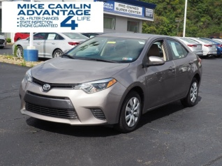 Perfect Used 2016 Toyota Corolla LE CVT For Sale In Greensburg, PA