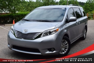 Used Toyota Sienna For Sale >> Used Toyota Siennas For Sale In Garner Nc Truecar