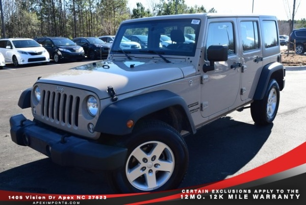 2016 Jeep Wrangler in Apex, NC
