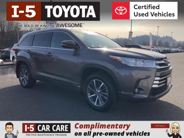 2019 Toyota Highlander in Chehalis, WA