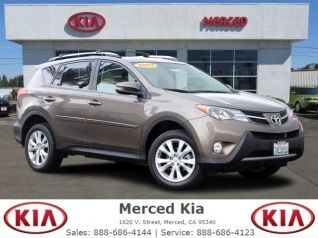 2017 Toyota Rav4 Limited Fwd For In Merced Ca