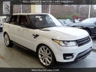 Used Range Rover Sport >> Used Land Rover Range Rover Sports For Sale Truecar