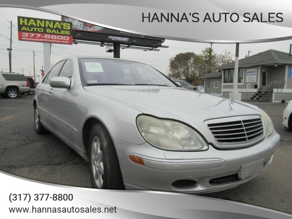 2001 Mercedes-Benz S-Class in Indianapolis, IN