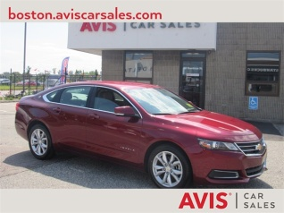 Used 2017 Chevrolet Impala Lt With 1lt For In Boston Ma