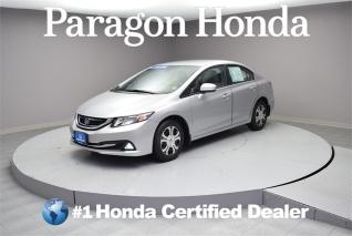 Used 2015 Honda Civic Hybrid Sedan I4 CVT For Sale In Woodside, NY