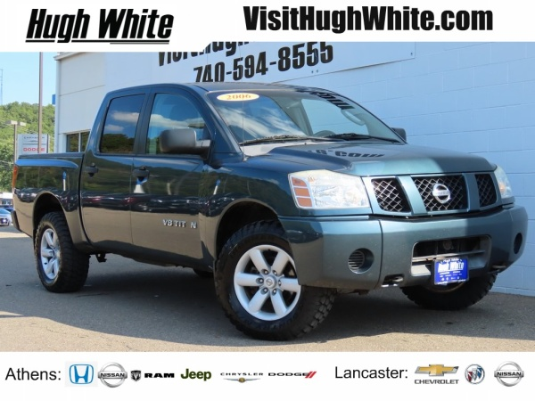 Green Cab Athens Ohio >> 2006 Nissan Titan Xe Crew Cab 4wd For Sale In Athens Oh