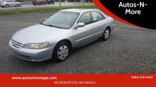Used 2001 Honda Accord LX Sedan Auto ULEV For Sale In Gilbertsville, PA