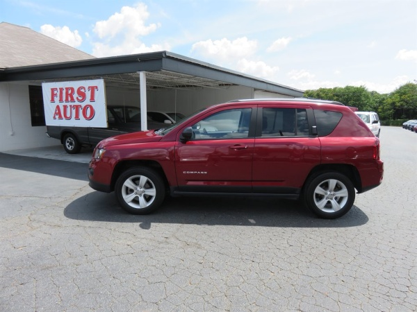 2016 Jeep Compass in Greenville, SC