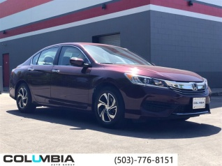 2017 Honda Accord Lx Sedan Cvt For In Portland Or