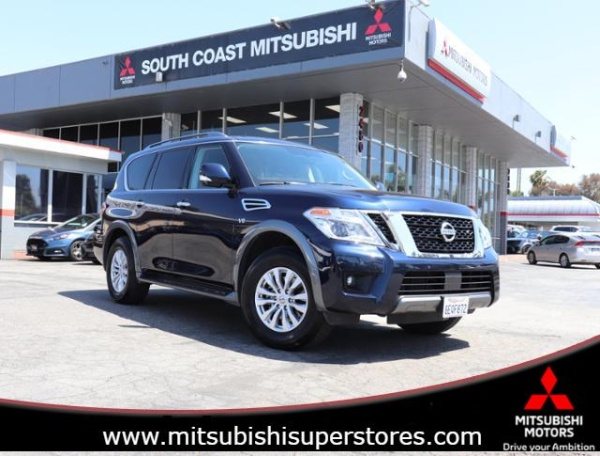 Costa Mesa Nissan >> 2019 Nissan Armada Sv Rwd For Sale In Costa Mesa Ca Truecar