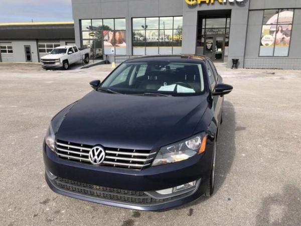 2012 Volkswagen Passat TDI SEL Premium