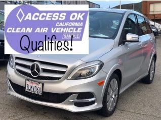 2017 Mercedes Benz B Cl Hatchback Electric Drive For In Daly City