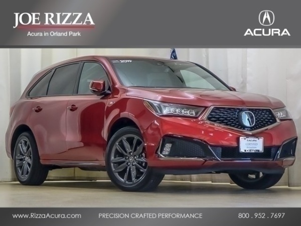 Acura Orland Park >> 2019 Acura Mdx Sh Awd With A Spec Technology Package For