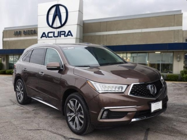 Acura Orland Park >> 2019 Acura Mdx Sh Awd With Advance Package For Sale In