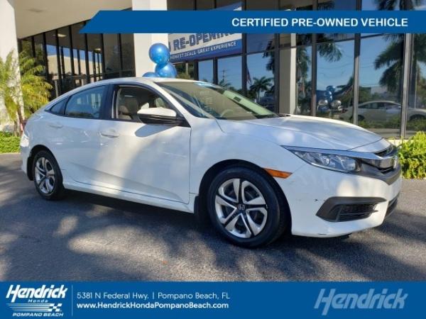 2017 Honda Civic in Pompano Beach, FL