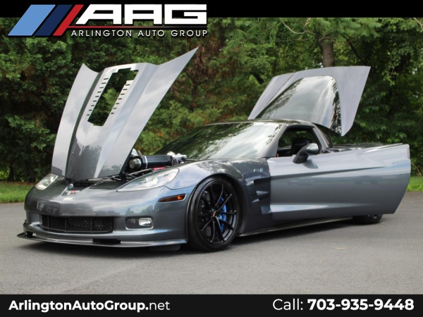 2009 Chevrolet Corvette Zr1 Coupe With 3zr For Sale In