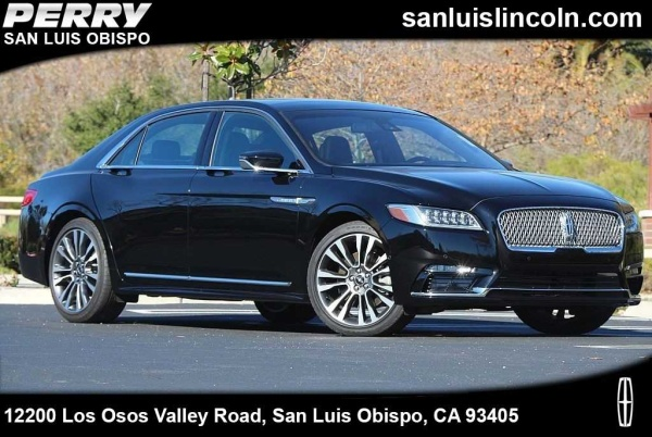 2018 Lincoln Continental in San Luis Obispo, CA